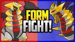 Giratina: Altered vs Origin | Pokémon Form Fight (Legendary)