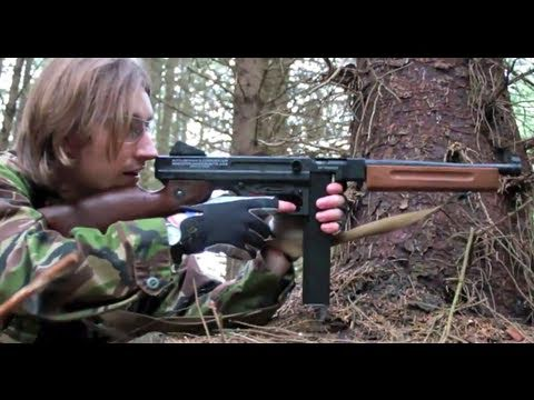 Airsoft War Thompson M1A1 POW Scotland