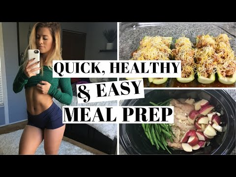MEAL PREP | 2 Quick Recipes