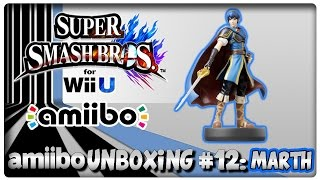 Amiibo Unboxing #12: Marth + Features in Super Smash Bros. U & Hyrule Warriors