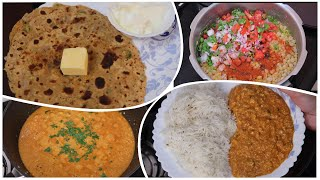 Indian Breakfast, Lunch & Dinner Recipes | My Busy Day Routine | CORN MASALA Recipe | ALOO PARATHA