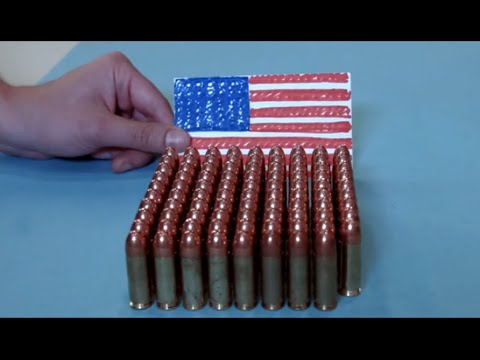 Guns in America vs. the rest of the world