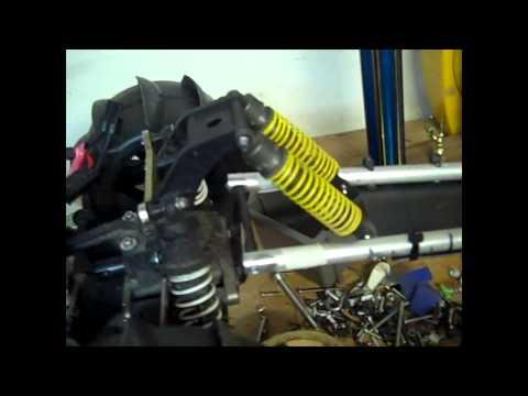 Test run of Wheelie Bar on Apache C1