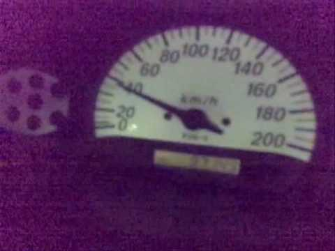TOYOTA ECHO (yaris) ACCELERATION