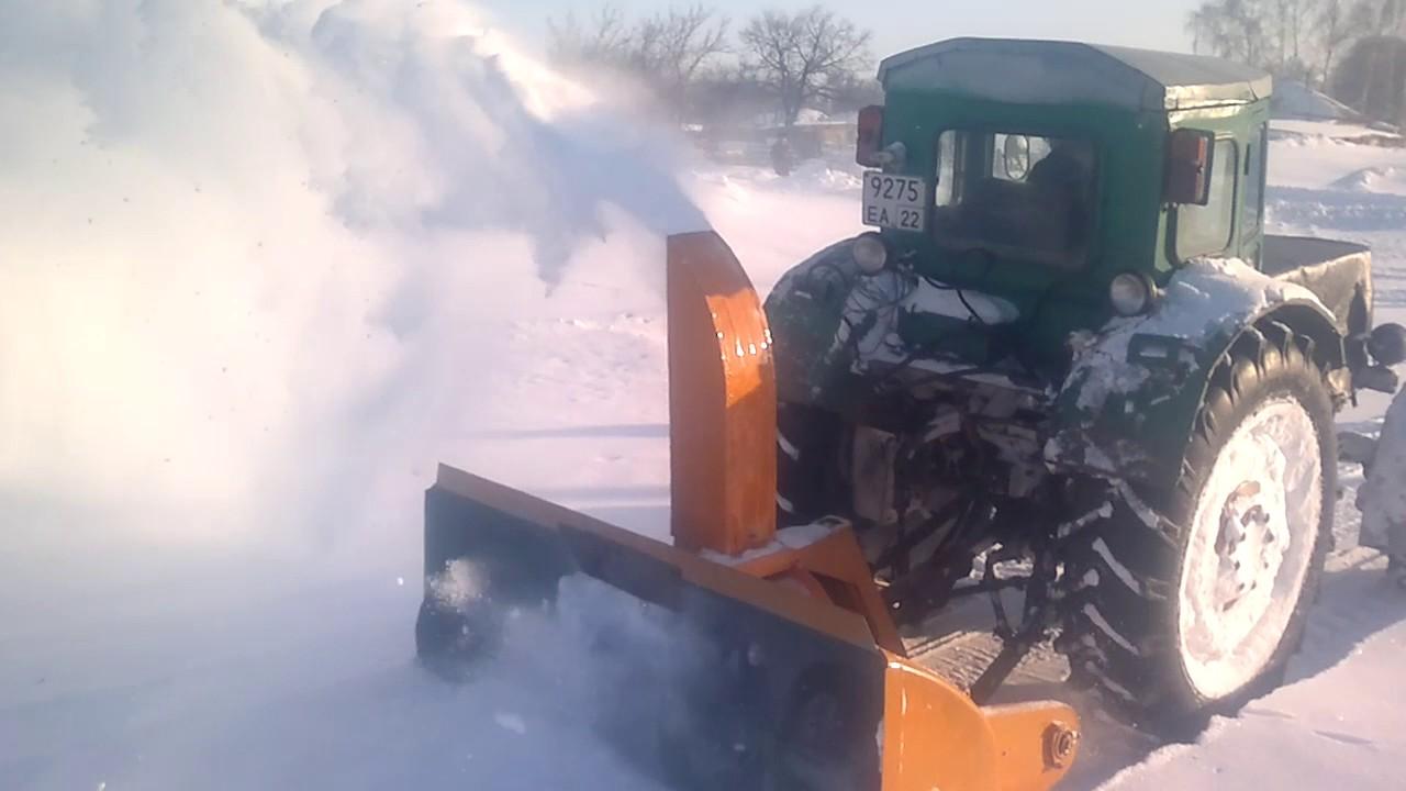 Снегоуборочна мтз своими руками 1158