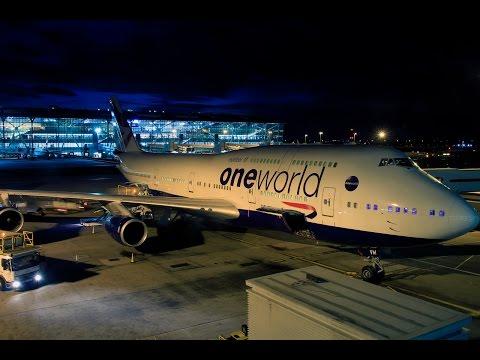 British Airways | 747-400 | LHR-GRU | First