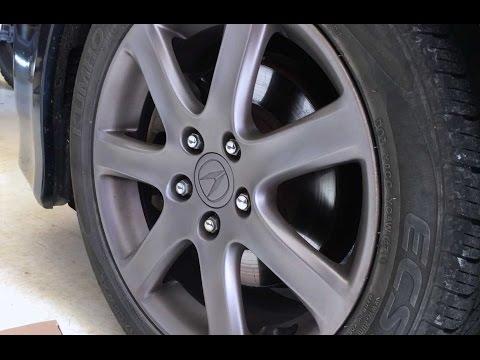 Acura tsx brakes