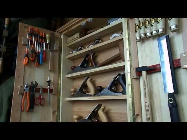 Шкафчик в мастерскую. Часть 2. - своими руками.