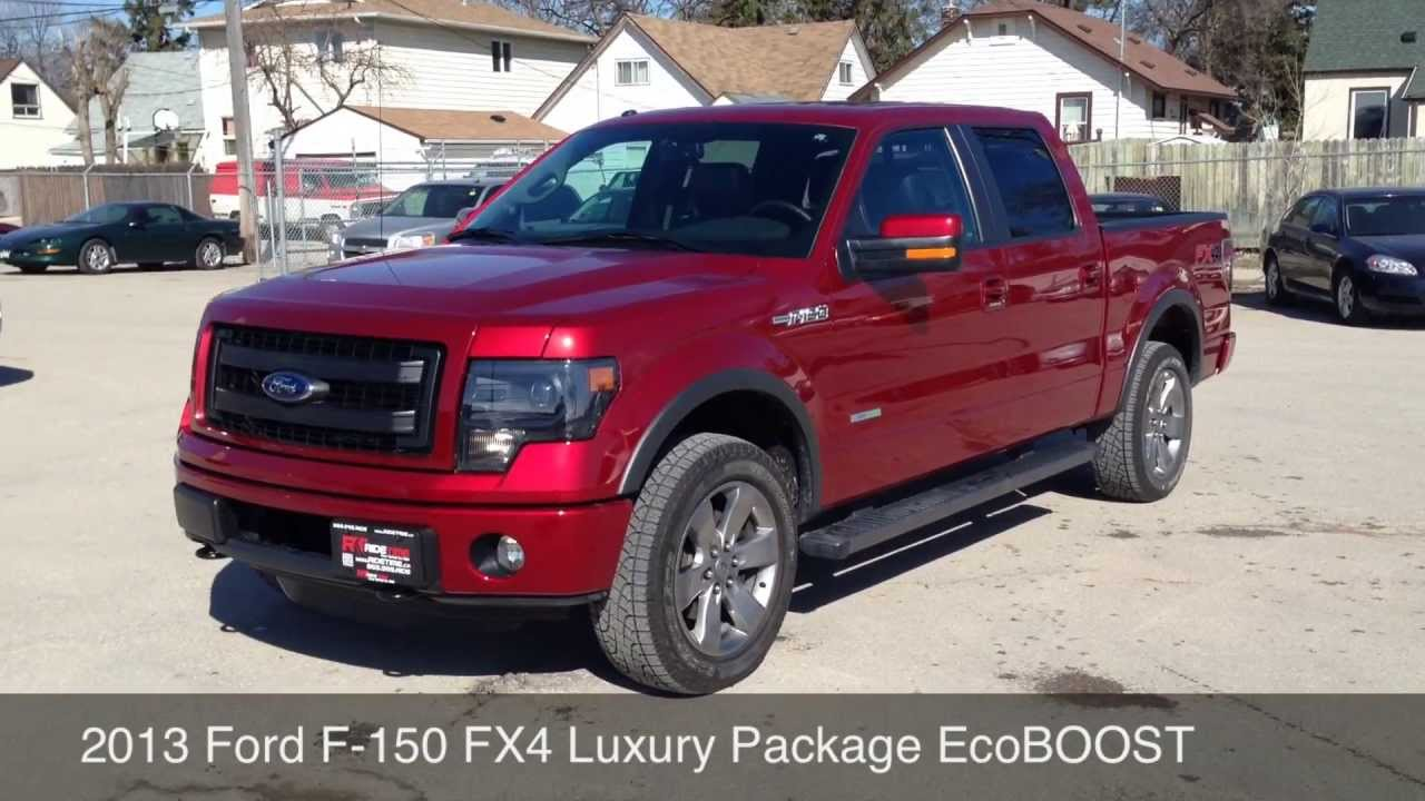 2013 ford f 150 fx4 luxury package ride time in winnipeg mb youtube. Black Bedroom Furniture Sets. Home Design Ideas