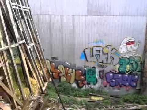 Caminando entre murales y grafitis en Valparaiso