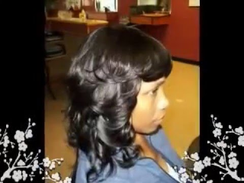 Curly Mohawk for Black Women Sew Ins
