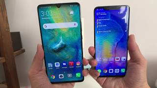 Review of the Huawei Mate 20 Pro & Mate 20 X