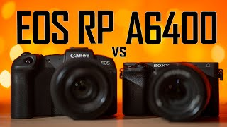 A6400 vs EOS RP - Detailed Comparison for Video Shooters!