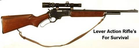 Lever Action Rifles for Survival