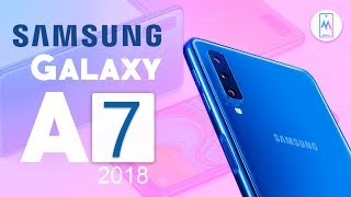 Samsung Galaxy A7 2018 Review Specification - A Premium Midranger! Triple Camera