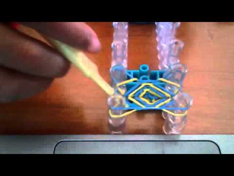 We thought we invented this Rainbow Loom bracelet, but after a quick search on Youtube we found that it already existed as the Double Cross. That's the thing with Rainbow Loom – with over one million looms out there, there's a pretty good chance that no matter what you .