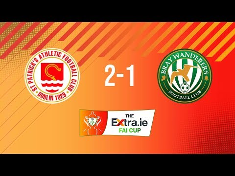 Extra.ie FAI Cup First Round: St. Patrick's Athletic 2-1 Bray Wanderers
