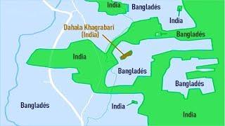 Đường Biên Giới Điên Rồ Giữa Ấn Độ Và Bangladesh