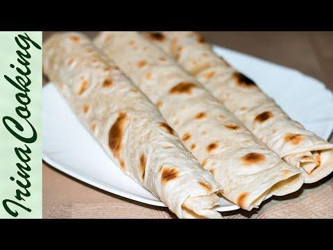 Тонкий ЛАВАШ В ДОМАШНИХ УСЛОВИЯХ ○ Только 3 ингредиента   Homemade Pita Bread Recipe