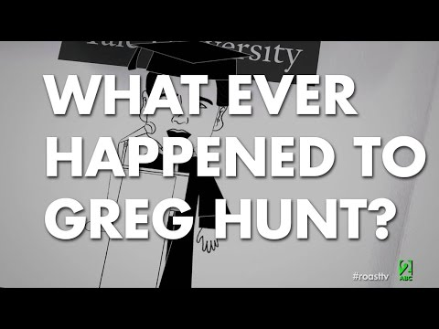 What Ever Happened to Greg Hunt?