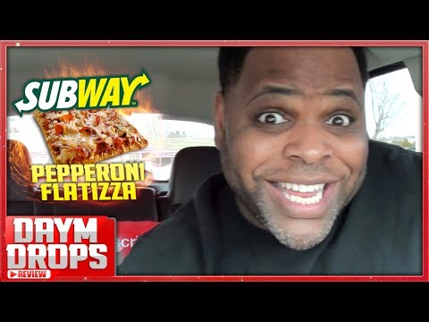 Subway Pepperoni Flatizza