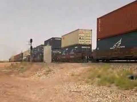 BNSF Meet, 4429 east & 7780 west at Joseph City, AZ 10May08