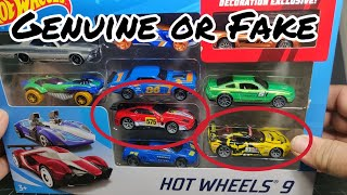 Genuine or Fake?  Speed Machines 9 Pack Ferrari and Corvette