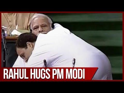 No-Confidence motion: PM Modi mocks Rahul Gandhi's bear hug in Lok Sabha thumbnail