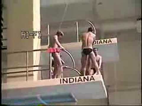 Indiana Diving Bloopers Video