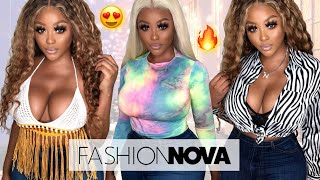 S3XY SUMMER FASHION NOVA CURVE TRY ON HAUL | SPRING/SUMMER 2019