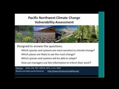 Climate Change Adaptation at the Washington Dept of Fish and Wildlife