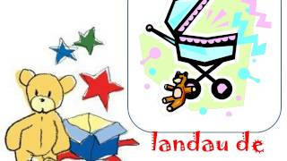 LEARN FRENCH VOCABULARY - des jouets