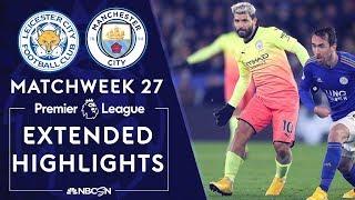 Leicester City v. Manchester City PREMIER LEAGUE HIGHLIGHTS 2222020 NBC Sports