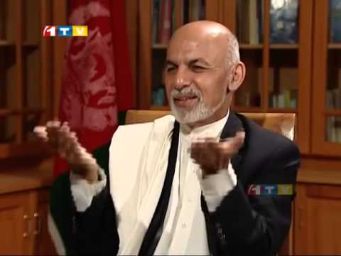 Ashraf Ghani Ahmadzai Interview dr Ashraf Ghani Interview With