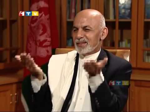 Ashraf Ghani Ahmadzai Interview dr Ashraf Ghani Interview With