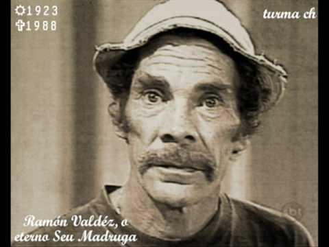 Homenagem a Ramon Valdez(Seu Madruga)--com fotos do seu funeral