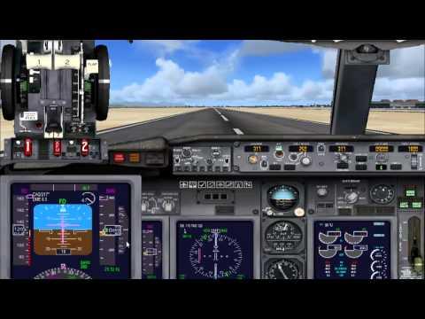 Guida Volo IFR su Flight Simulator X in Italiano - parte 3 (Rullaggio. Decollo e Navigazione)