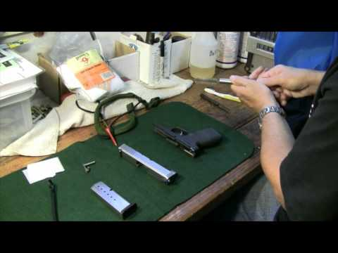Kahr CW9 - Field Strip and Cleaning