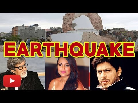 Earthquake in Nepal: Celebrities reacted on Twitter