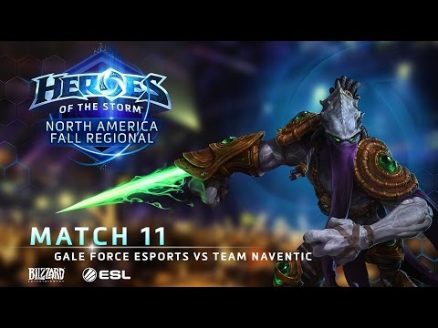 Gale Force ESports Vs Team Naventic - NA Fall Regional #1 - Match 11 | Group A Finals
