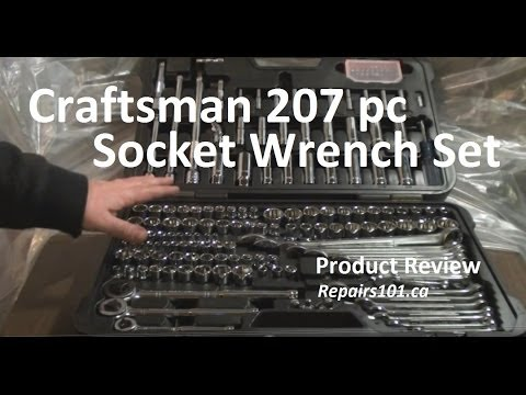 Craftsman 207 pc Socket Wrench Set