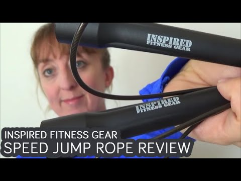 Inspired fitness gear speed jump rope review