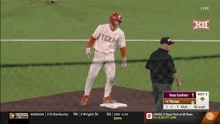 Texas Southern vs Texas Baseball Highlights