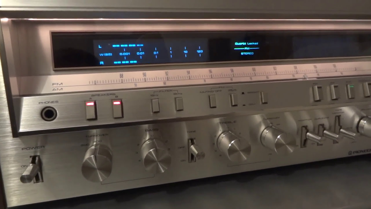 how to connect old pioneer receiver to tv