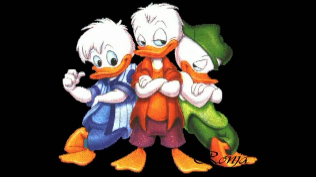 Мультипликационный сериал Кряк-Бряк выпущен на экраны в1996 год