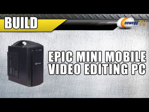 Newegg TV: Epic Mobile Video Editing PC Build - Kingston SSD RAID & Intel i7 3930K