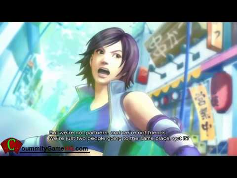 Street Fighter X Tekken Asuka And Lili Prologue Story Intro [60 Fps HD]