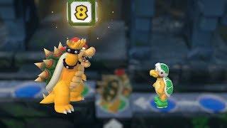 Super Mario Party Whomp's Domino Ruins #18 Hammer Bro vs Daisy vs Peach vs Mario