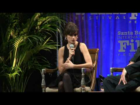 Penelope Cruz on the red carpet and being interviewed by Roger Durling at the 24th Santa Barbara International Film Festival. For Santa Barbara's premiere we...