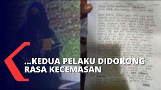 Analisa Tulisan Tangan Dalam Surat Wasiat Pelaku Teror, Grafolog: Didominasi Rasa Tidak Aman